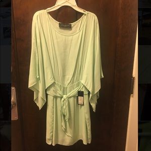 Akira Chicago Seafoam Green Dress